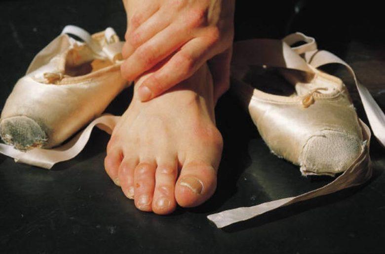 Pies bailarina